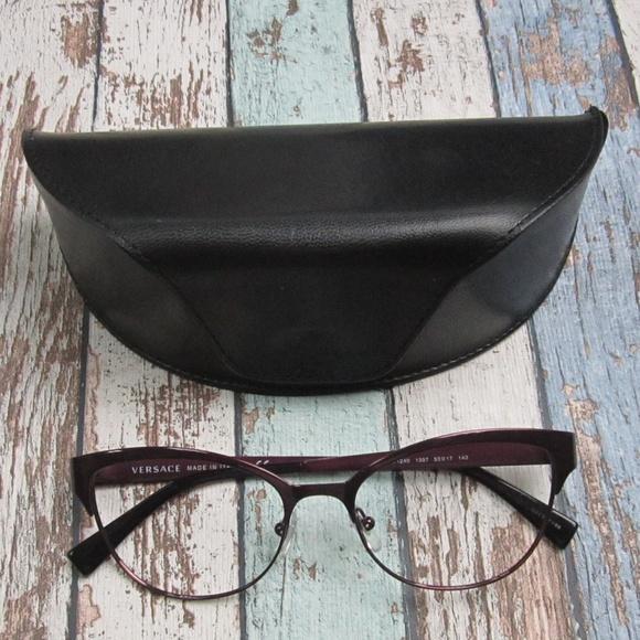 d3fd5f2b77d9 Versace 1240 1397 Women Eyeglasses Italy/OLI243. M_5bfdbbf1f63eea0ed93fc370